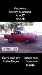 Saveiro quadrada - 1987