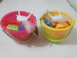 Kit de baldinho de praia
