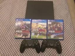 PS4 Slim 500GB em perfeito estado