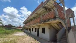 Siqueira Vende: Obra inacabada são 15 apartamentos de dois quartos em Curcurana