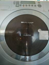 Lavadora & Secadora de Roupas Brastemp, 7 kg, cor Prata, Linha Ative!