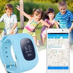 Relógio Kids com GPS Localizador e telefone