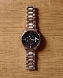 Relógio Masculino Nibosi 2309, Display em safira, Aço inoxidável, em perfeito estado