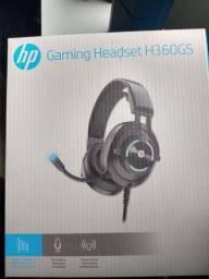 Headset gamer novo lacrado HP