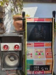 Jukebox e karaokê juntos