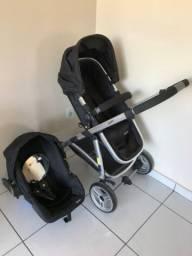 Carrinho de Bebê Travel System Epic Lite Duo + Base Isofix Infanti Onyx