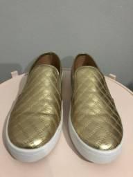 Sliper dourado Stiletto n 35