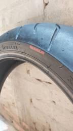 Pneu Dianteiro Pirelli Diablo 120/70 ZR 17 58W Ótimo Estado