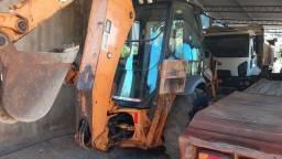 Retro Escavadeira Case 580N 2015