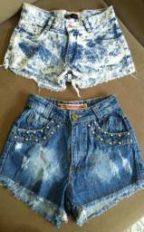 2 Shorts Jeans por 10$