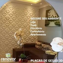 VENDO PLACAS DE GESSO 3D