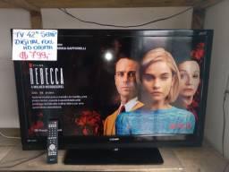Tv Lcd 42'' Semp Full Hd Infinity Digital