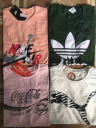 5 camisas por R$100