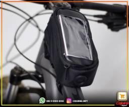 Bolsa Porta Celular Suporte Quadro Bike Bicicleta m22sd10sd20