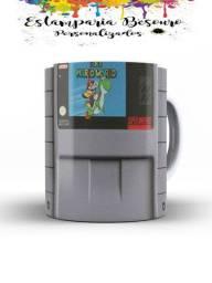 Canecas Games Super Nintendo