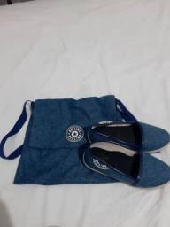 Vendo sapatilha e bolsa kit