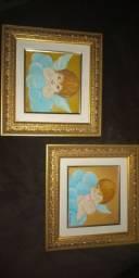 Conjunto de quadros, anjinhos
