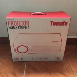 "Projetor De Led Full HD Datashow 3000 Lumens - Até 120"" | Marca: Tomate"
