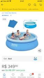 Vendo piscina de 2300 litros