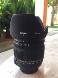 Lente Sigma 17-70mm 2.8