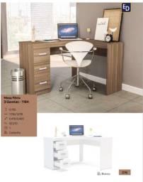 Mesa Para Computador 3 Gavetas