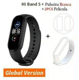 Mi Band 5 Original Smartwatch + 2 Película + Pulseira