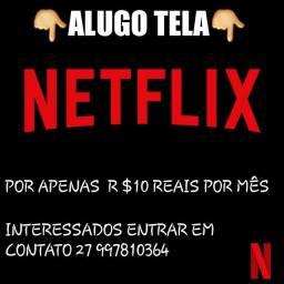 Aluguel de Netflix