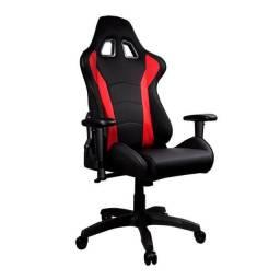Cadeira Cooler Master Caliber R1 Preto/Vermelho - CMI-GCR1-2019R - Loja Fgtec Informática
