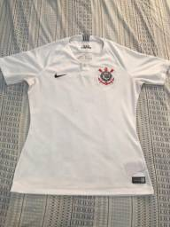 Camisa feminina original do Corinthians
