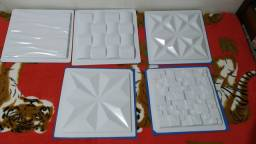 Forma para placas de gesso 3D