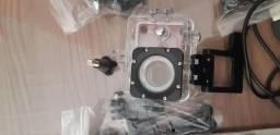 Câmera Estilo Go Pro Com vários acessórios