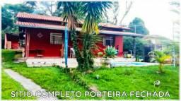 Lindo sítio porteira fechada completo 3qts piscina sauna Campo pomar 2.000 mts