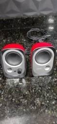 Caixa de som R12U para PC 4W RMS EDIFIER - Vermelha<br><br>
