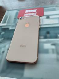 IPhone 8 dourado 256gb seminovo