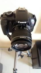 Kit youtuber câmera + tripé + lente + Pcx3500