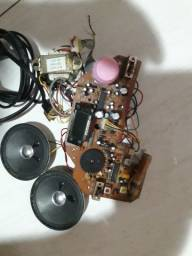 Rádio  sem carcaça AM FM