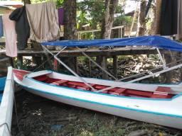 Barco de madeira para rabeta!