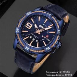 Relógio masculino importado original Naviforce qualidade incrível