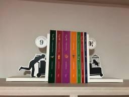Coleção de livros Harry Potter+apoio