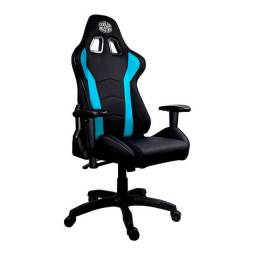 Cadeira Cooler Master Caliber R1 Preto/Azul - CMI-GCR1-2019B - Loja Fgtec Informática