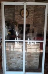 porta janela de aluminio usada 2.10 x 1.20 $350.00