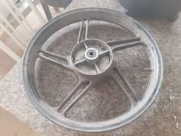 Roda traseira ligaleve freio a tambor cg160