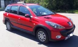 Peugeot 207 SW Escapade, super inteira/ avalio troca de menor valor