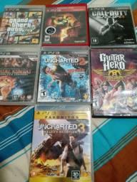 Vendo jogos originais em perfeito estado para PS3