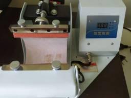 Prensa térmica para sublimação caneca e longdrink