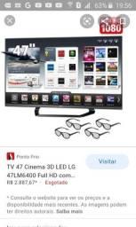 Smart TV full hd 47 3d + bluray