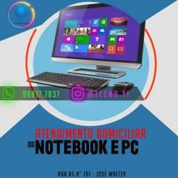 Atendimento Domiciliar de Notebook e Pc