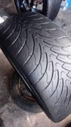 Rodas aro 22 com pneu