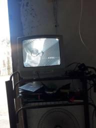 TV 14 polegada Philip com conversor