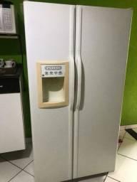 Vendo essa geladeira impecavel 1.850